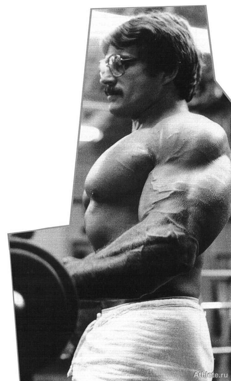 Фотогалерея - фотографии культуристов и бодибилдеров ... Arnold Schwarzenegger Workout